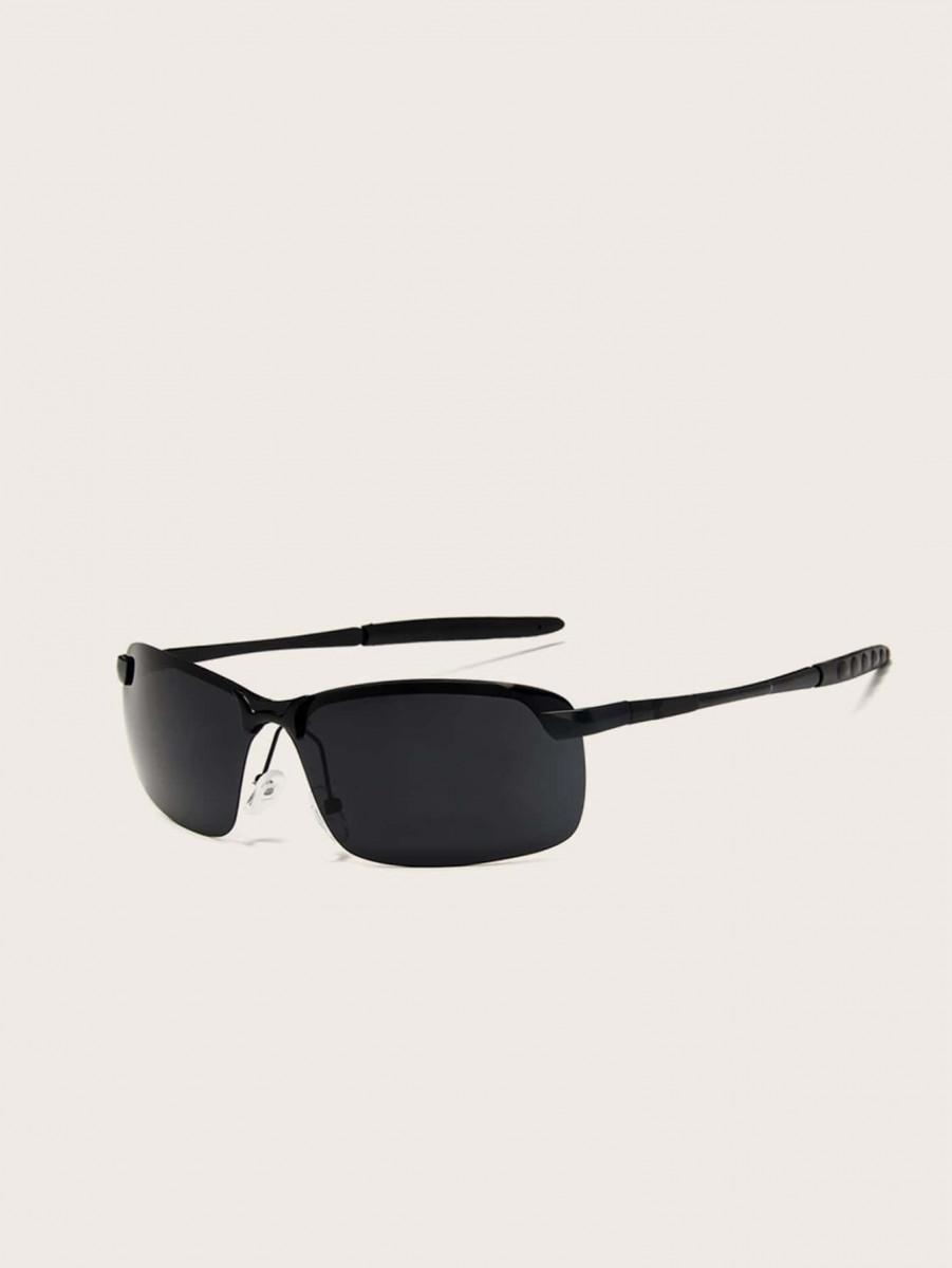 Men Flat Lens Riding Sunglasses