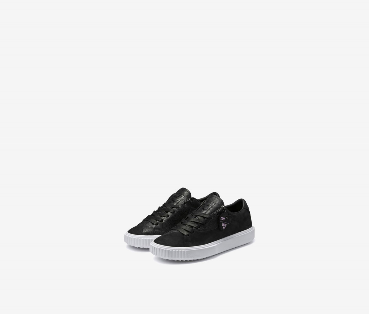 Puma Breaker Valentine FM Unisex Sportstyle Shoes  Black