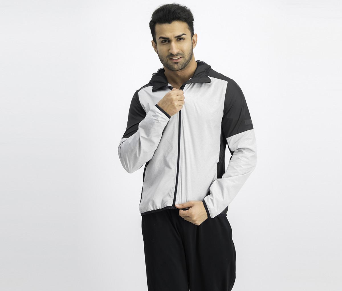 Reebok Mens Sports Jacket  Black
