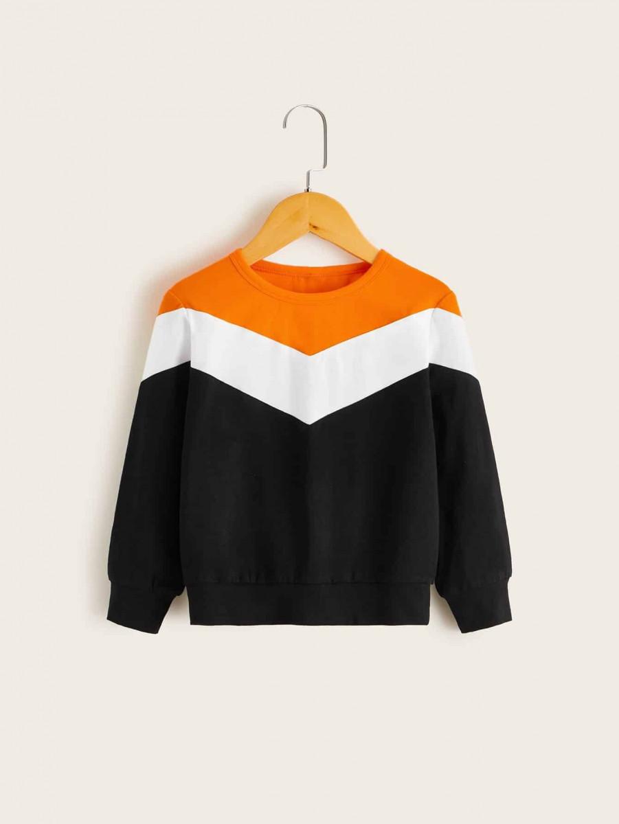 Toddler Girls Cut And Sew Sweatshirt