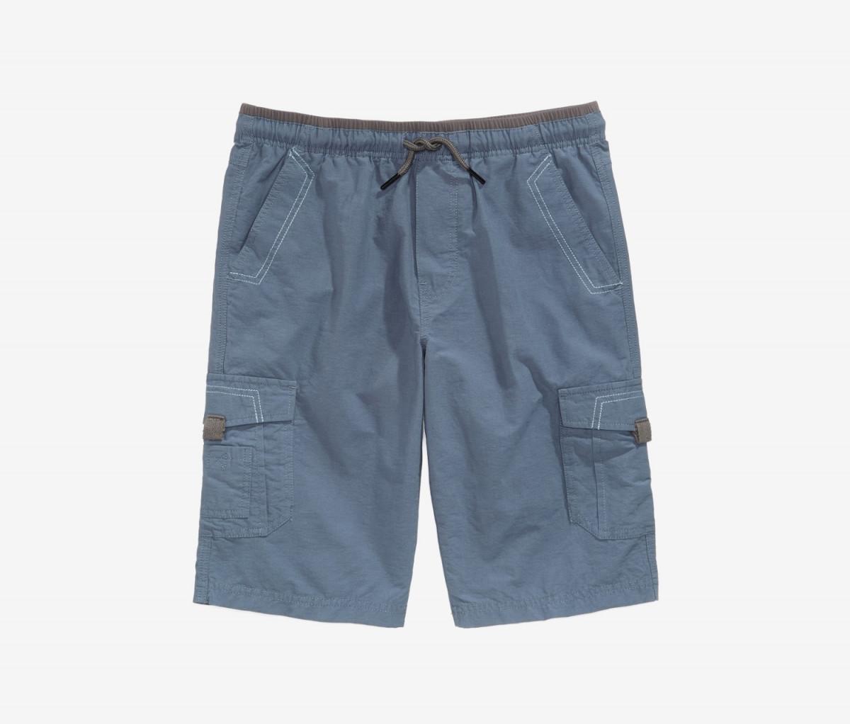 Univibe Big Boys Scout Shorts  Dust Blue