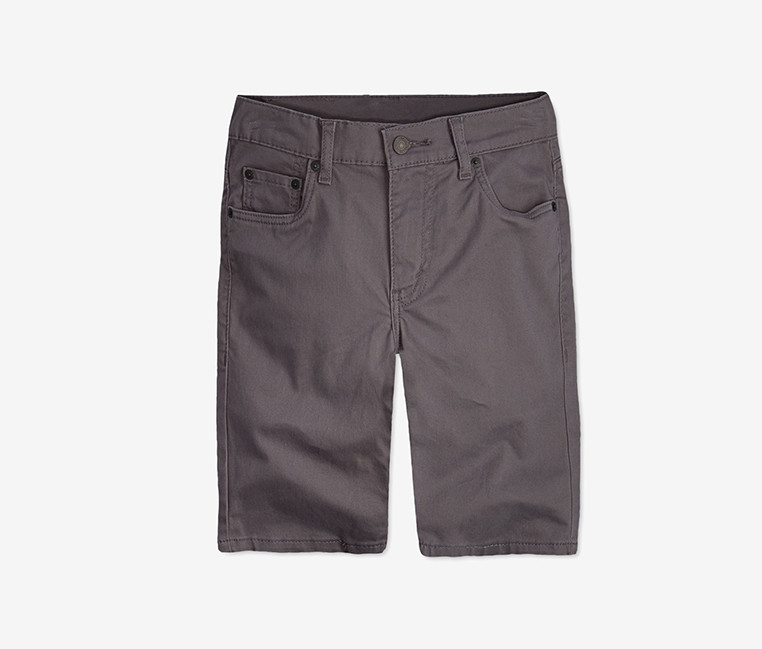 Levis 511 Sueded Shorts  Med Grey