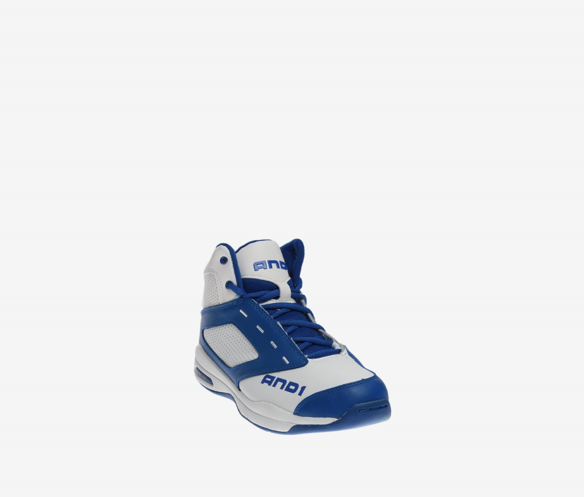 And1 Kids Boys Typhoon Shoes  White/Royal Blue