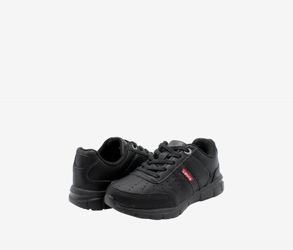 Levis Kids Stallion Burnish Shoes  Black