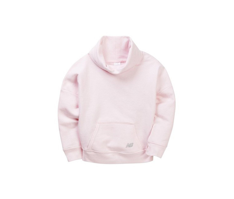 New Balance Girls Active Funnel Neck Pullover  Diamond Pink