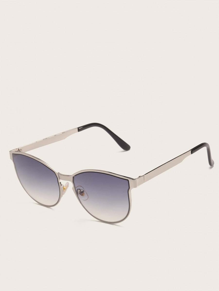 Men Plain Frame Sunglasses
