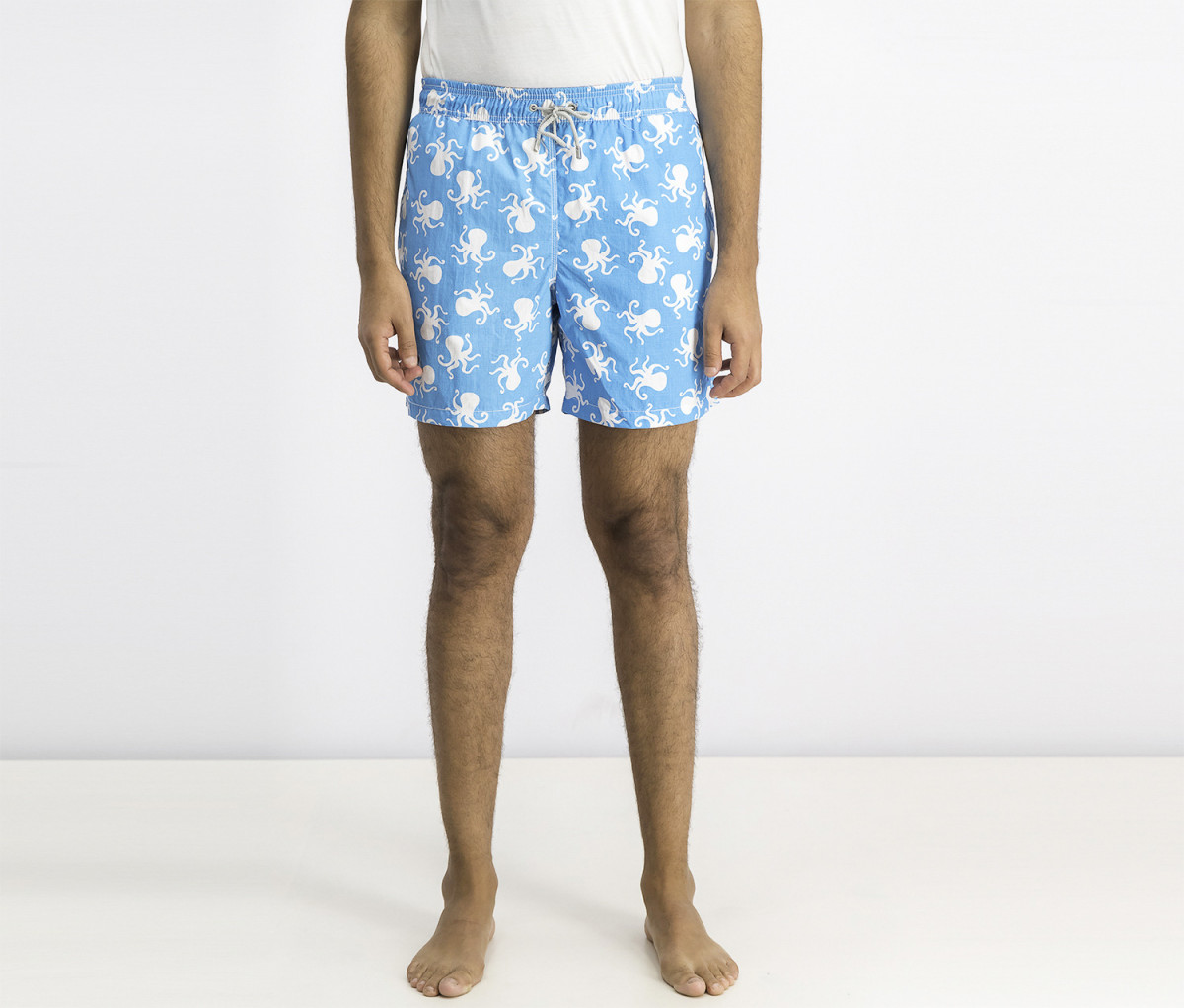 Hackett Mens Swim Trunks  Turquoise