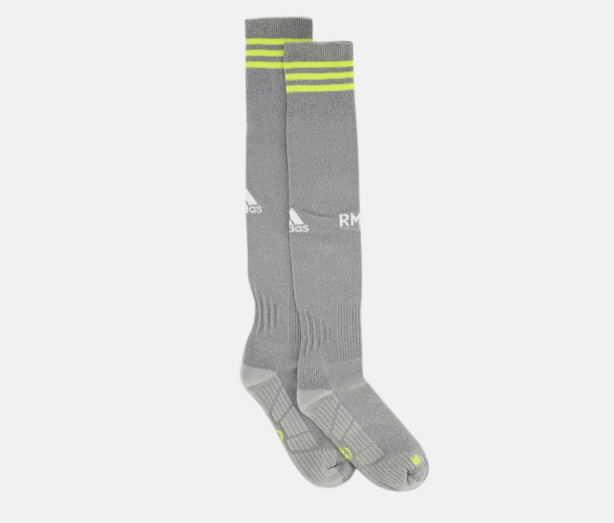 Adidas Men Real Madryt Away Socks  Grey