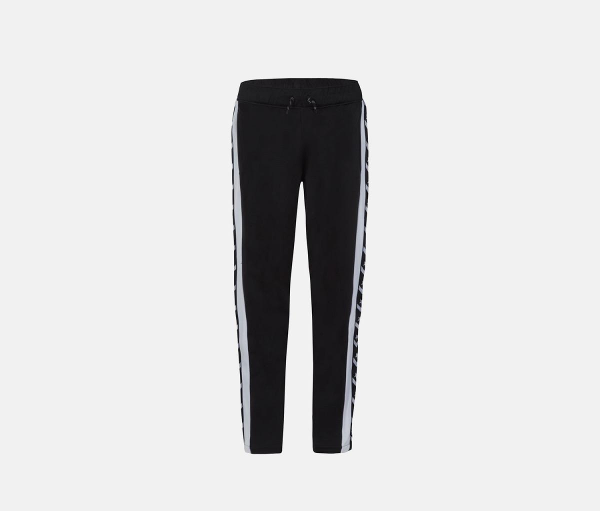 Converse Boys Heritage Snap-Bottom Warm-Up Pants  Black