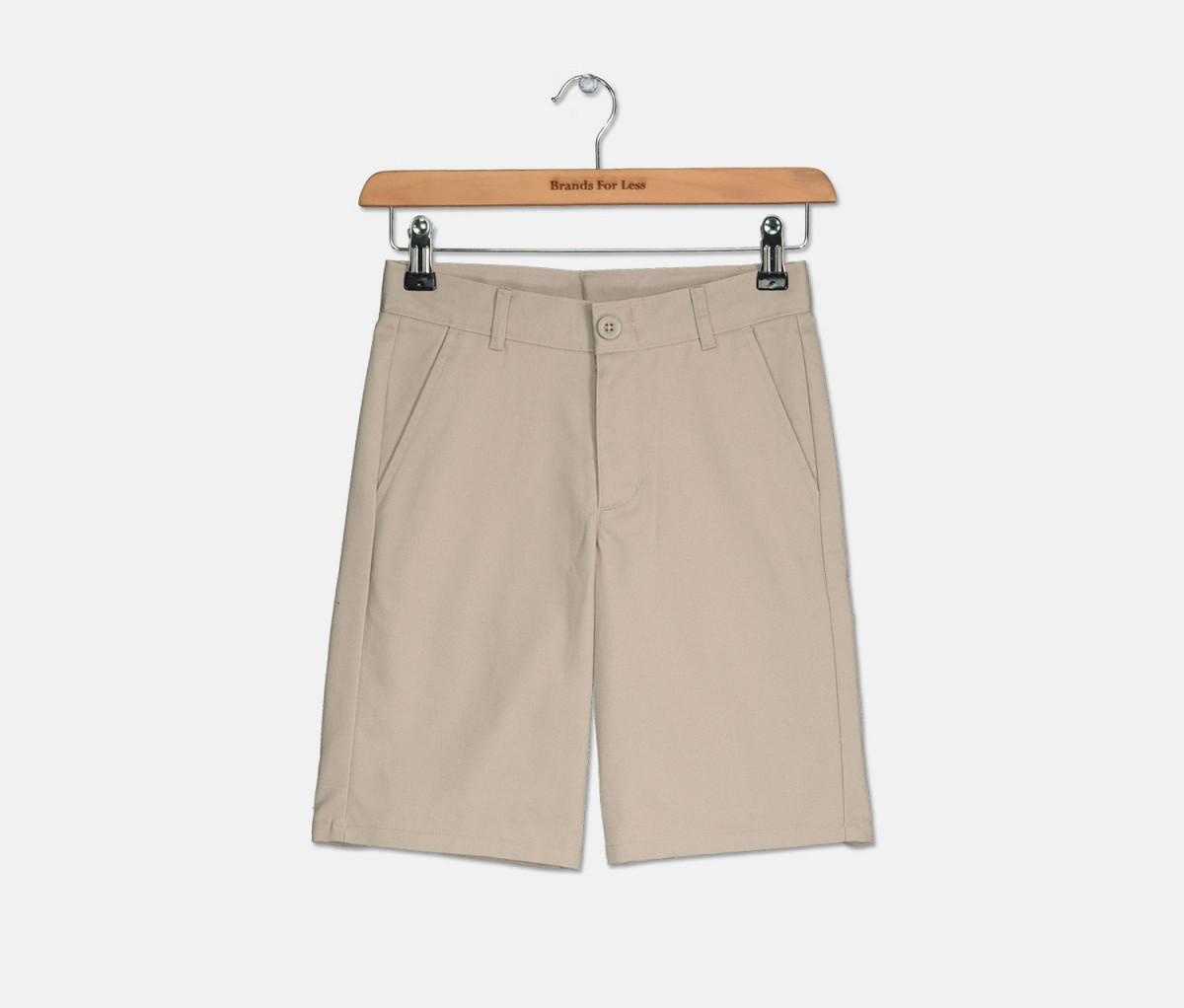 Nautica Boys School Uniform Short  Khaki