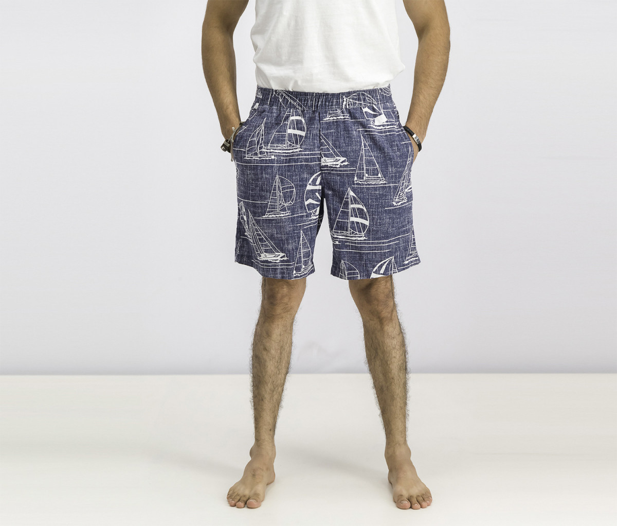 Reyn Spooner Mens Newport 2 Honolulu Classic Fit Print Shorts  Ink