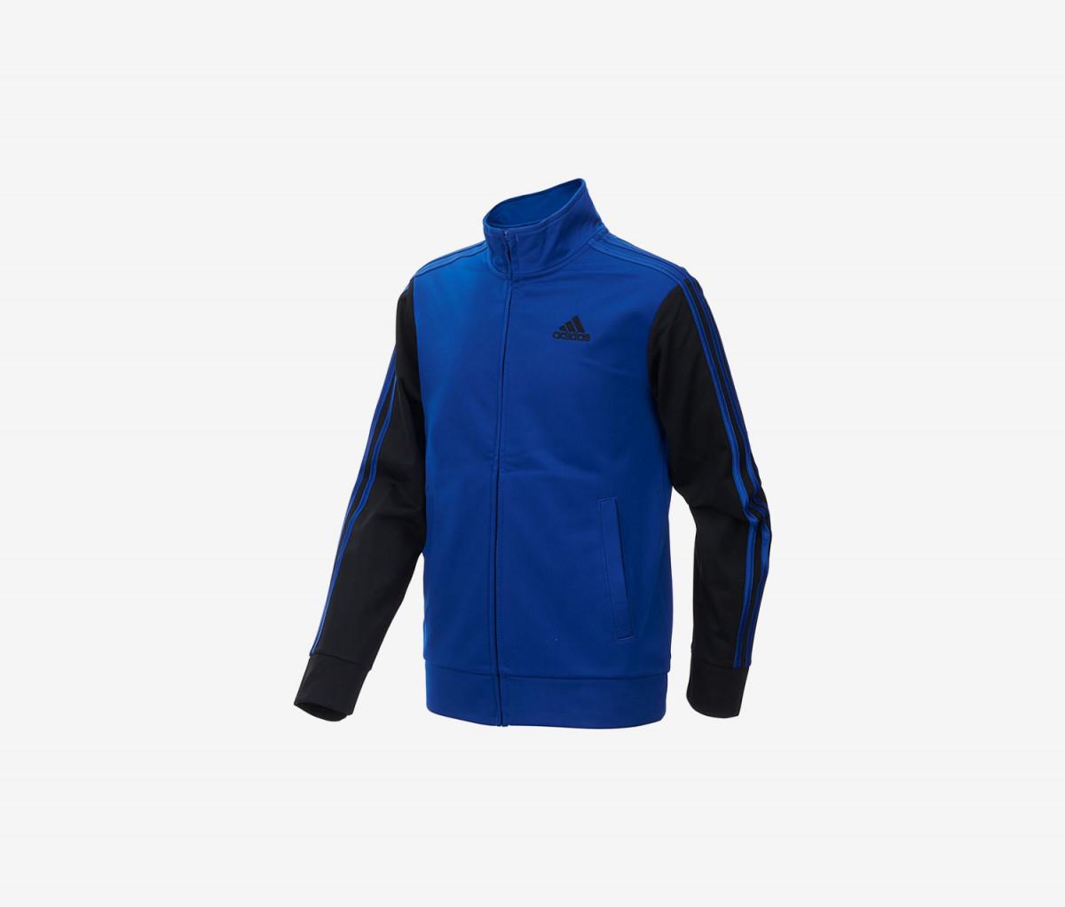 Adidas Little Boys Zip-up Tricot Jacket  Dark Royal