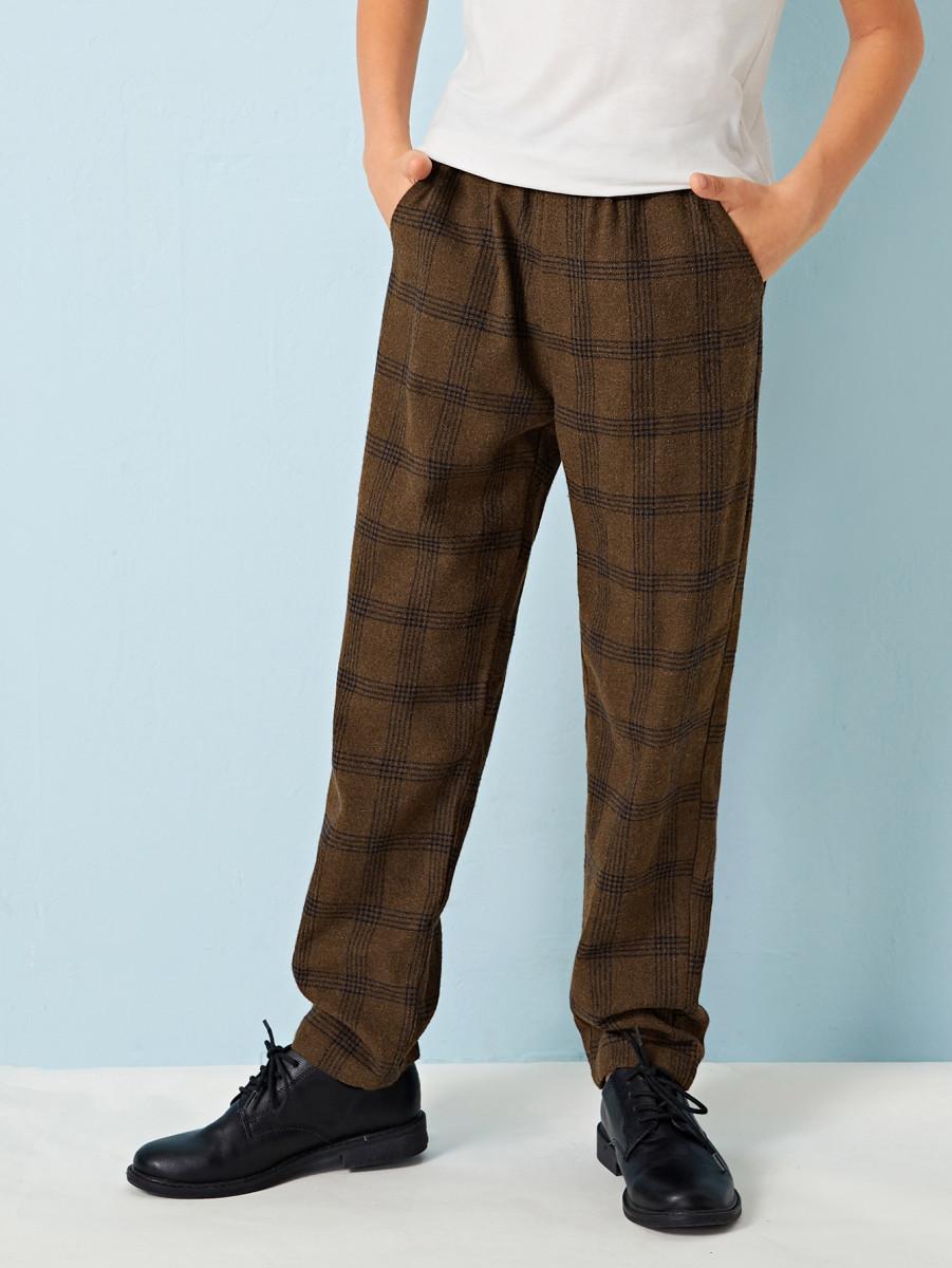Boys Slant Pocket Carrot Pants