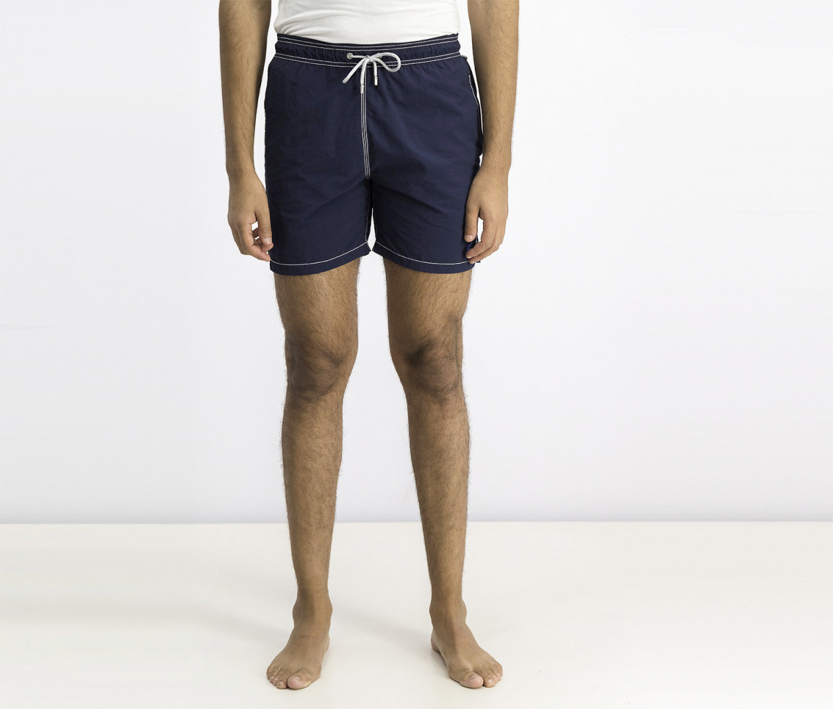 Hackett Mens Swim Trunk  Navy