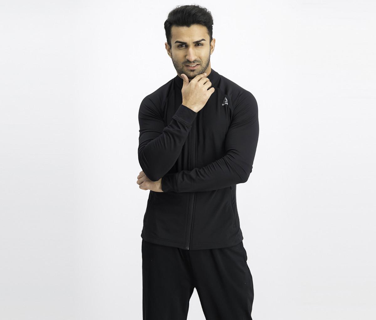 Reebok Full Zip Jacket  Black