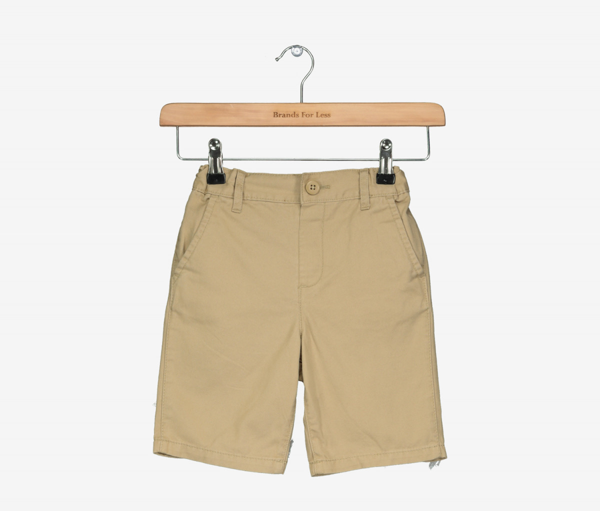 The Childrens Place Boys Woven Chino Shorts  Flax