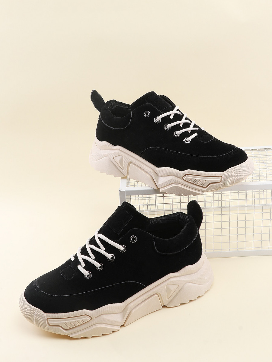 Men Lace-up Chunky Sneakers