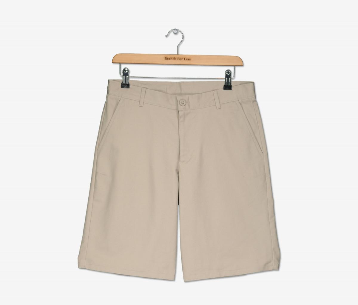 Nautica Boys Slant Pocket Short  Khaki