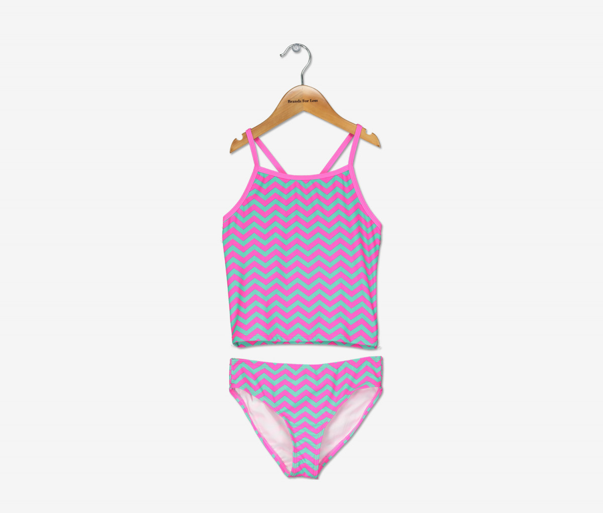 Kanu Surf Girls Alexa Tankini Swimsuit  Pink Combo