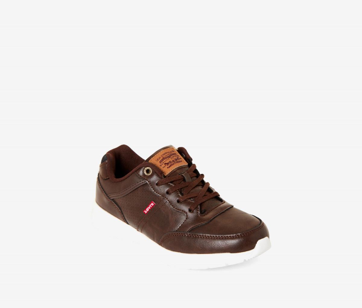 Levis Big Boys Staple Burnish Shoes  Brown
