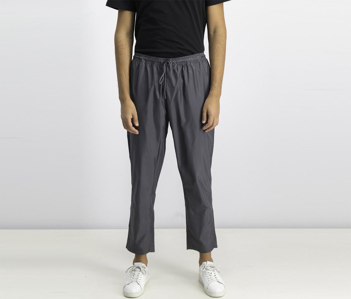 Reebok Mens Workout Woven Pants  Grey