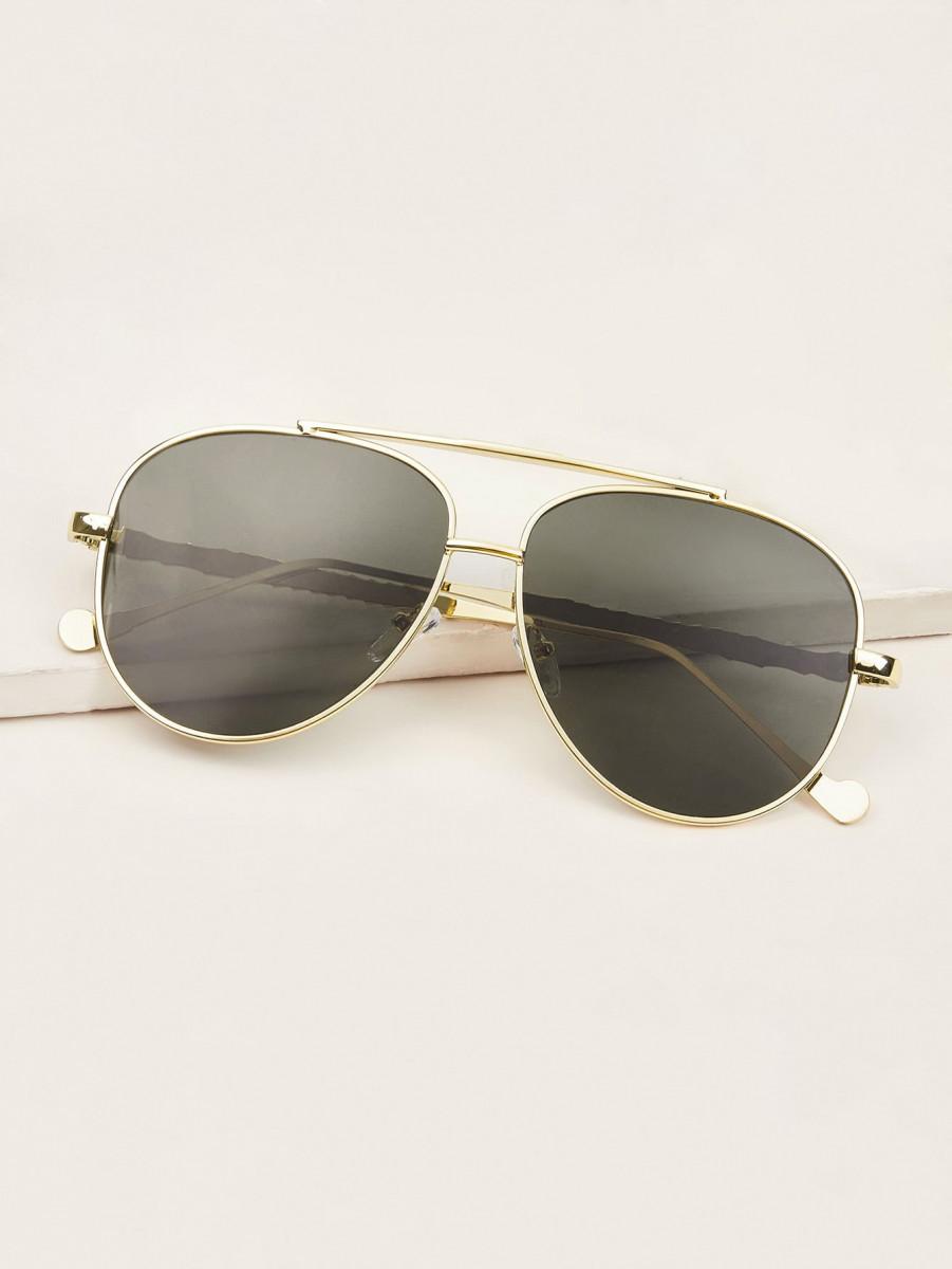 Top Bar Aviator Sunglasses