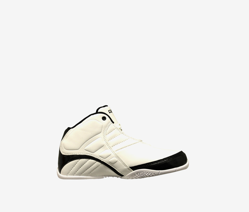 And1 Boys Rocket 3.0 Lace Up Shoes  White/Black