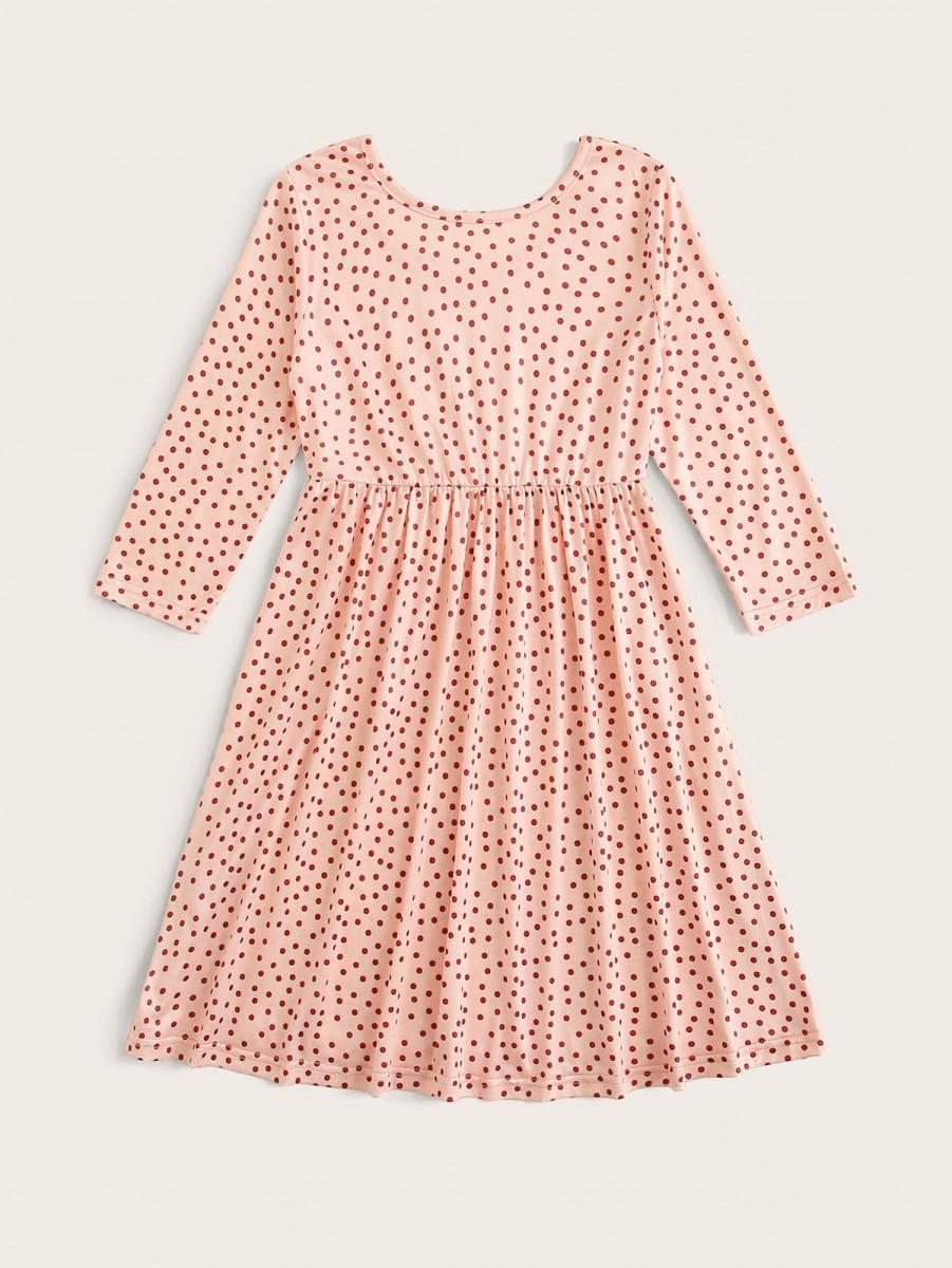 Toddler Girls Polka Dot Night Dress