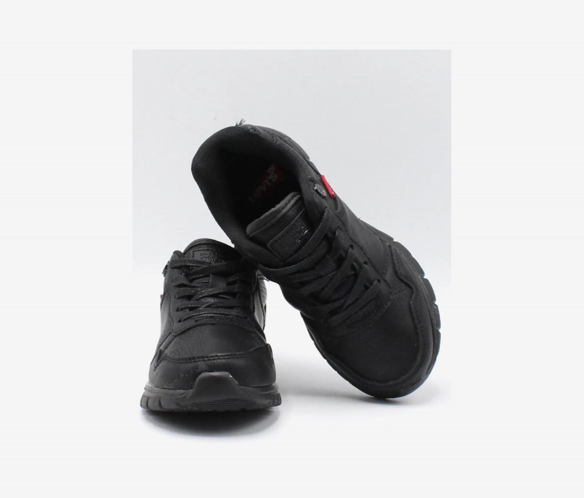 Levis Kids Boys Colby Burnish Shoes  Black