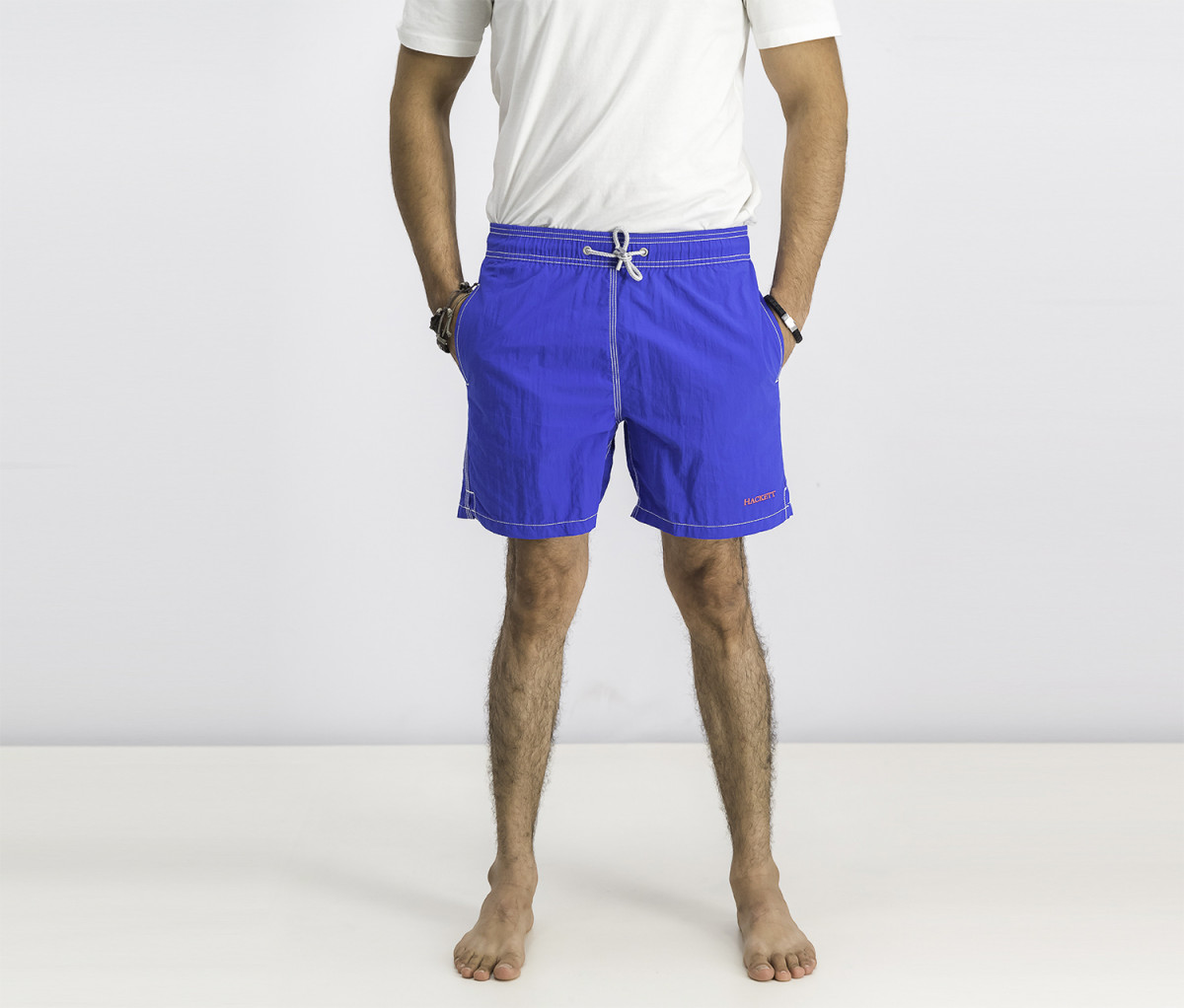 Hackett Mens Board Short  Bright Blue