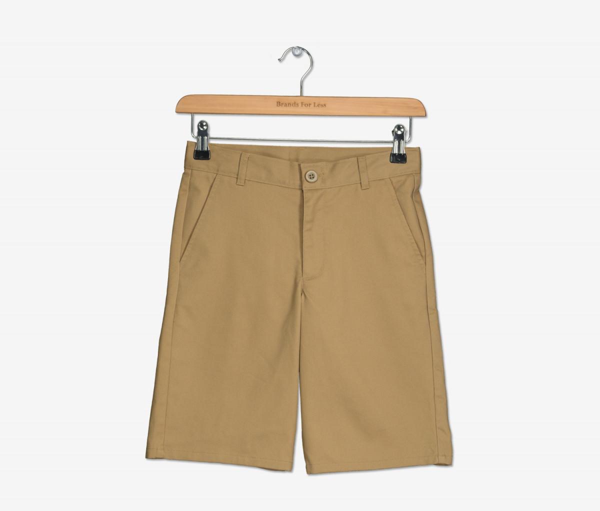 Nautica Boys School Uniform  Short  Burnished Khaki
