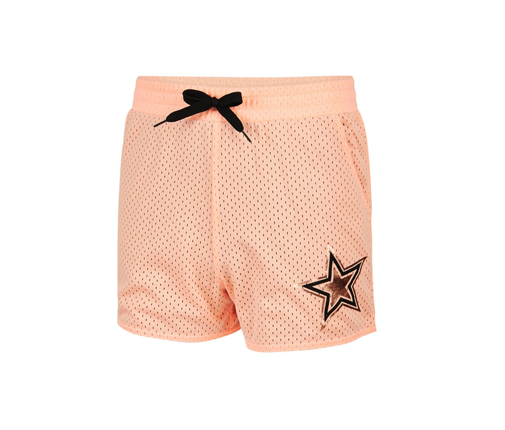 Ideology Big Girl Gold Star Mesh Shorts  Juicy Melon