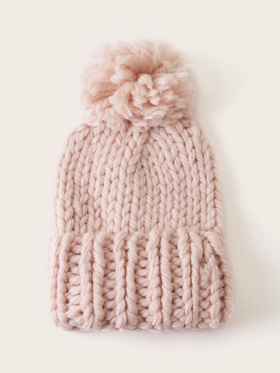 Coarse Lines Crochet Beanie